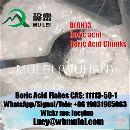 Boric Acid Flakes 11113-50-1 for Skin Whitening Boric Acid safe delivery to UK Australia