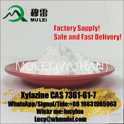 Pharamaceutical Grade 99% Xylazine/ Xylazine Hydrochloride CAS 7361-61-7 Raw Crystal Powder